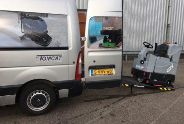 Schrobmachine Tomcat bussen open 2