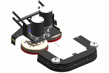 Schrobmachines veegmachines tomcat edge diversen dubbel disk deck